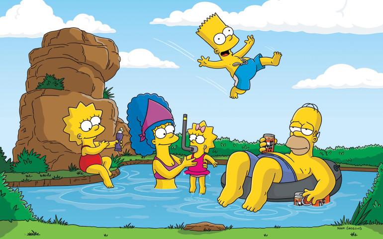 Simpsonovi pouze za pomoci CSS