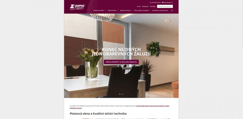 dopos.cz - firemní stránky
