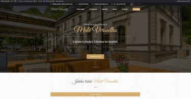 maleversailles.com - stránky restaurace