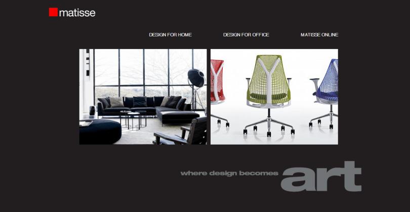 Matisse - firemní prezentace
