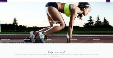 miomove.cz - stránky startup projektu