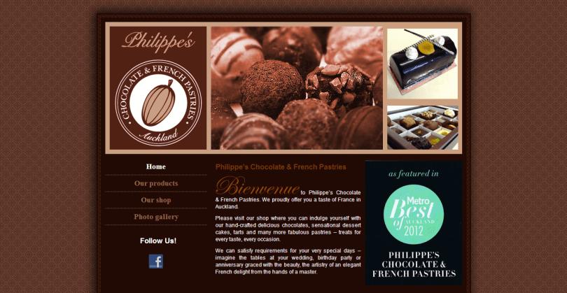 Philippe s Chocolate - firemní prezentace