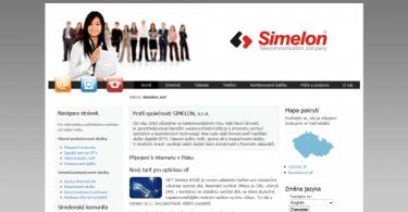 Simelon - firemní prezentace