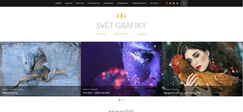 Svět Grafiky - blog