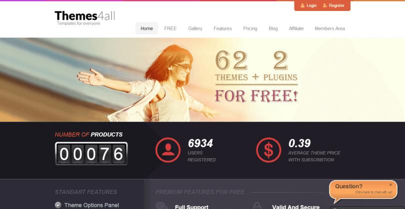 Themes4all - internetový obchod