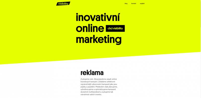 visibility.cz - firemní stránky