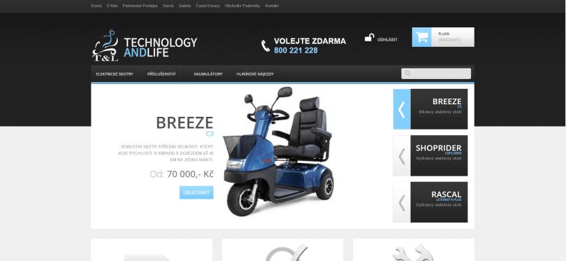 Vozíky pro život - internetový obchod
