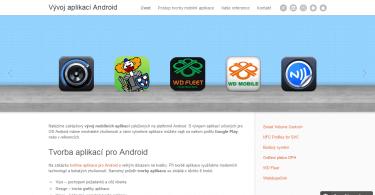 Vývoj mobilních aplikací pro Android - minisite