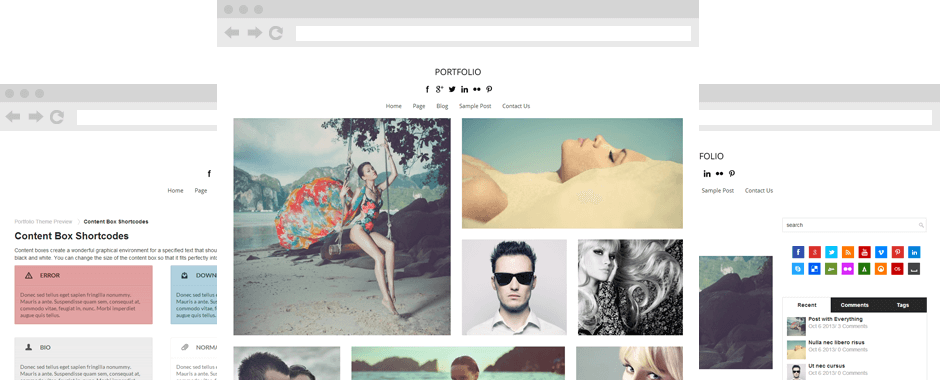 Portfolio-Theme-screenshot
