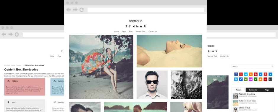 Portfolio-Theme-screenshot