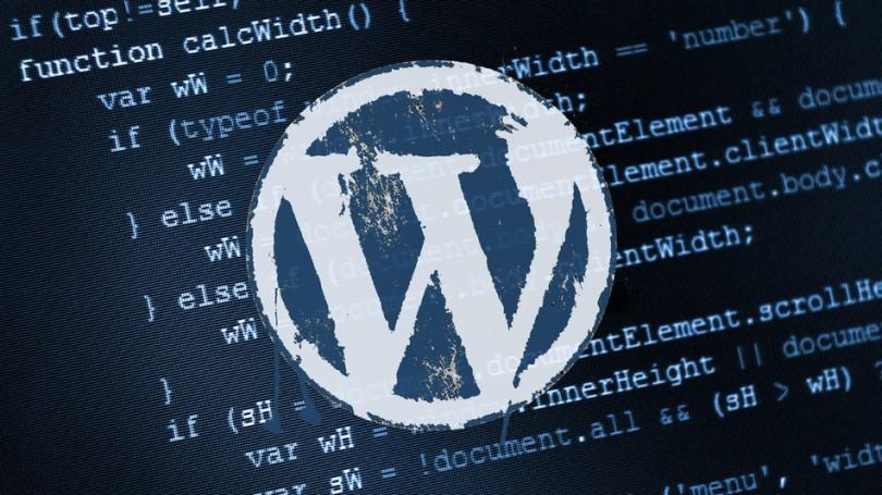 WordPress databáze