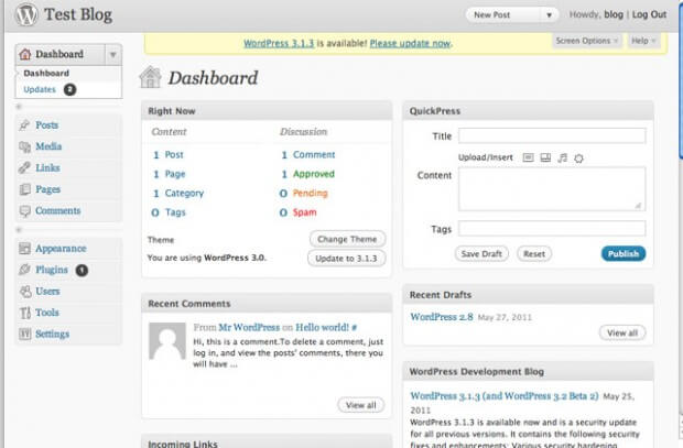 "WordPress 3.0 ""Thelonious"""