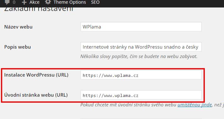 Základní nastavení HTTPS