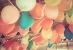 Balónky u stropu