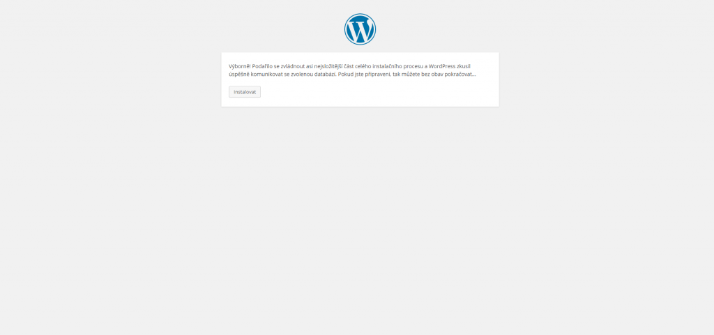 Instalace WordPress na localhost