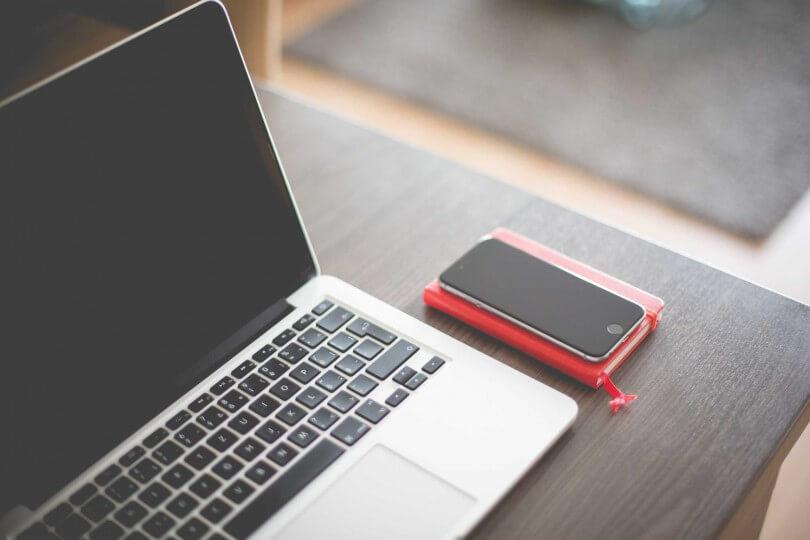 notebook a telefon
