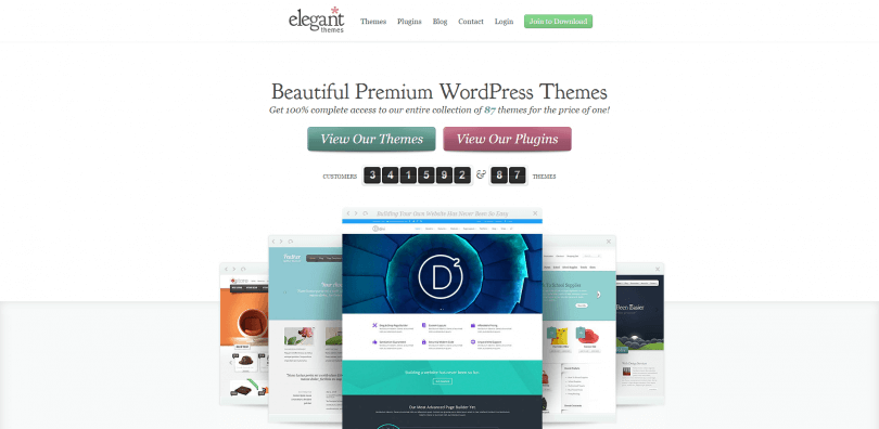 WordPress Themes Loved By Over 341k Customers