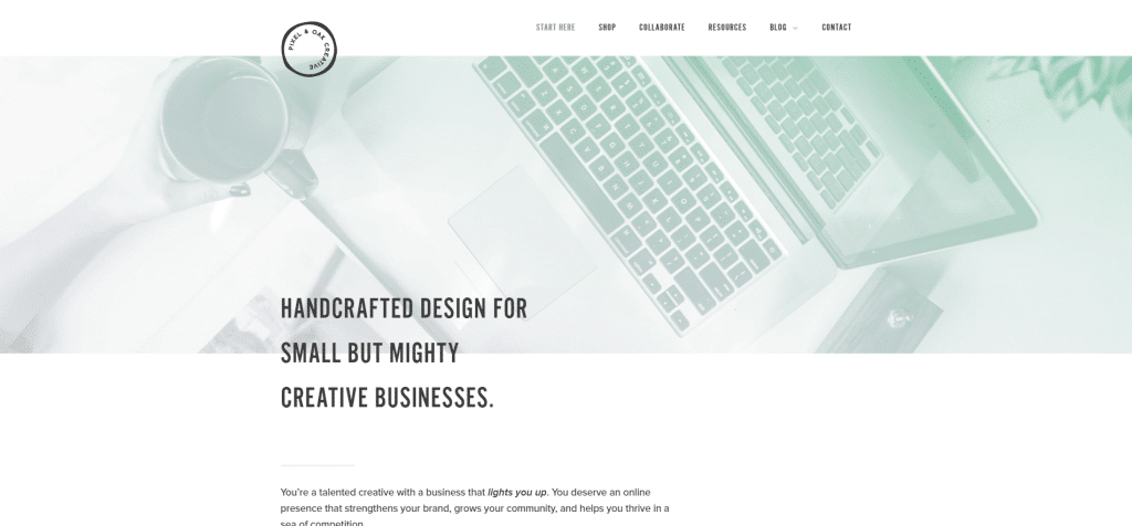 pixel-oak-web-design-for-creatives