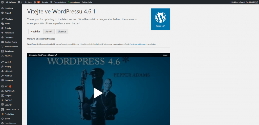 O WordPress