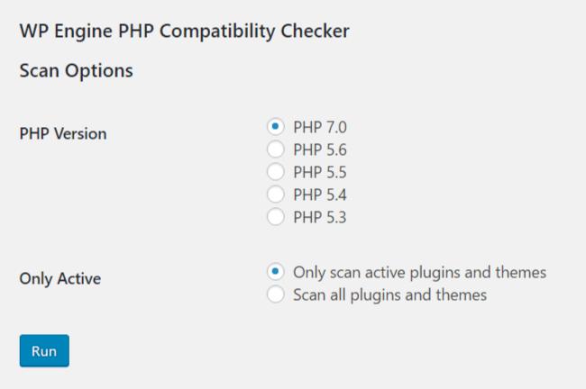 Sken kompatibility PHP