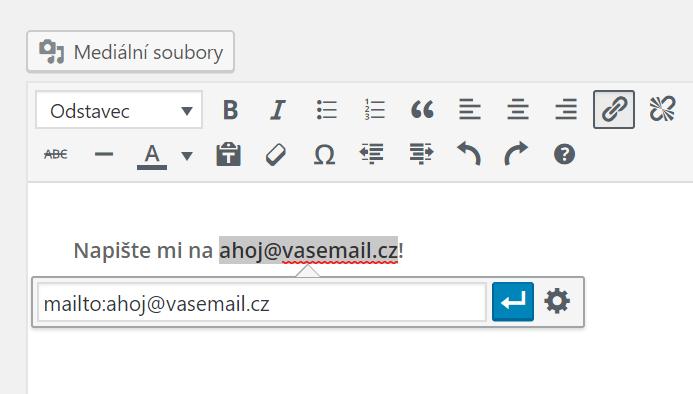 Odkaz na email