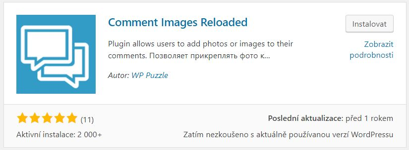 Comment Images Reloaded