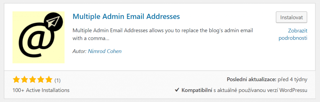 Multiple Admin Email Addresses