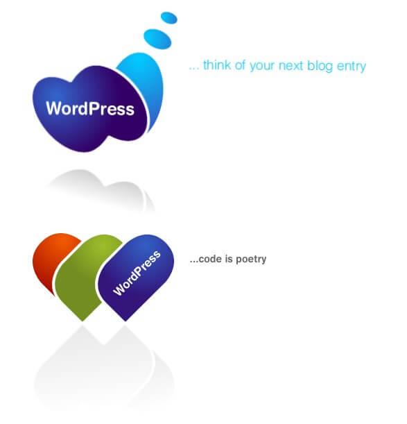 WordPress logo od Denis Radenkovic