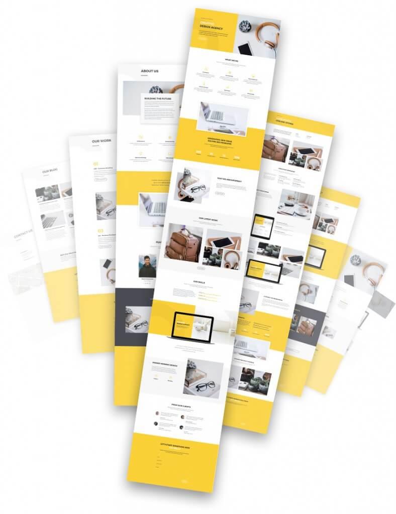 Kompletní balíčky stránek