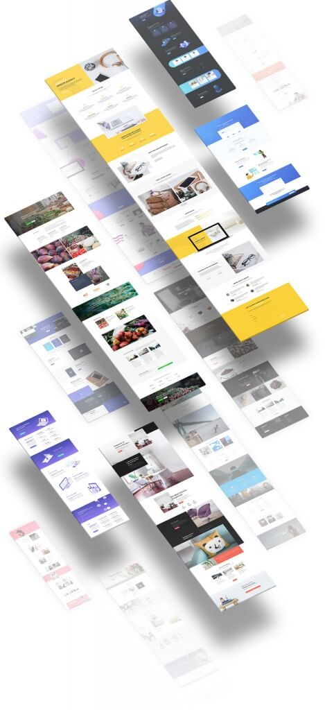 Ukázky navržených stránek