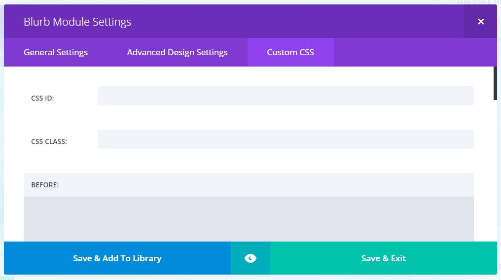 Extra WordPress šablona - vlastní CSS