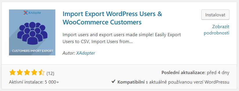 Import Export WordPress Users & WooCommerce Customers