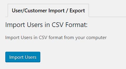 Import WordPress uživatelů