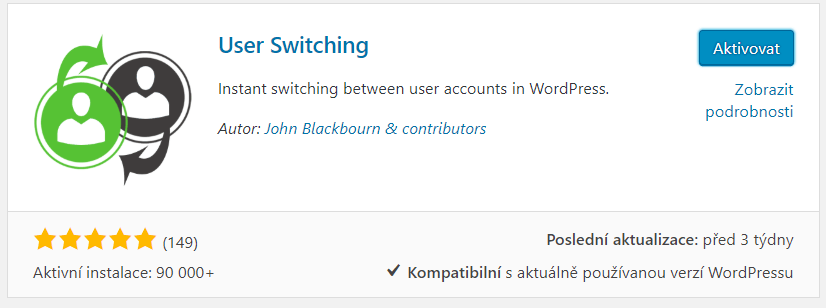 Plugin User Switching