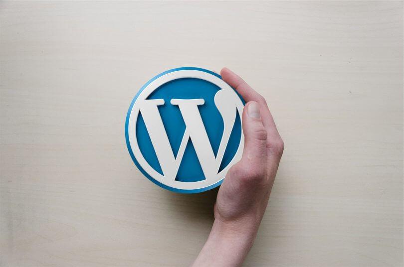 WordPress a ruka