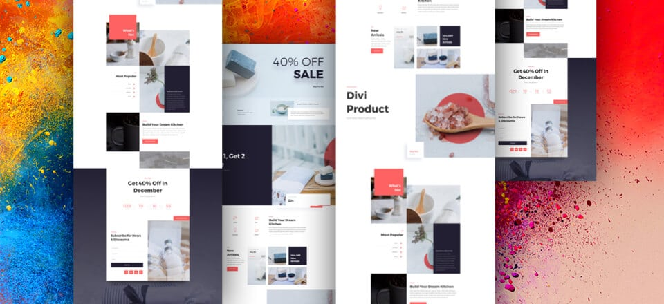Boutique Sale Landing Page