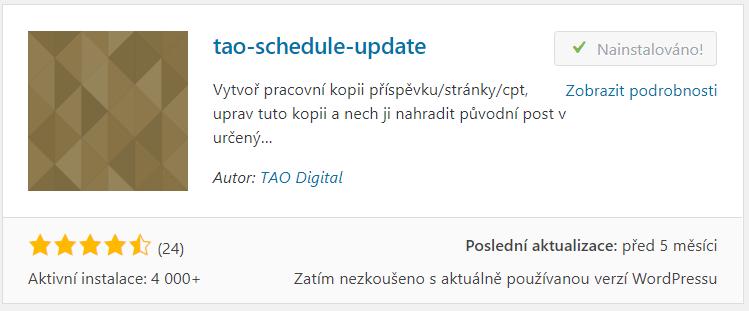 tao-schedule-update