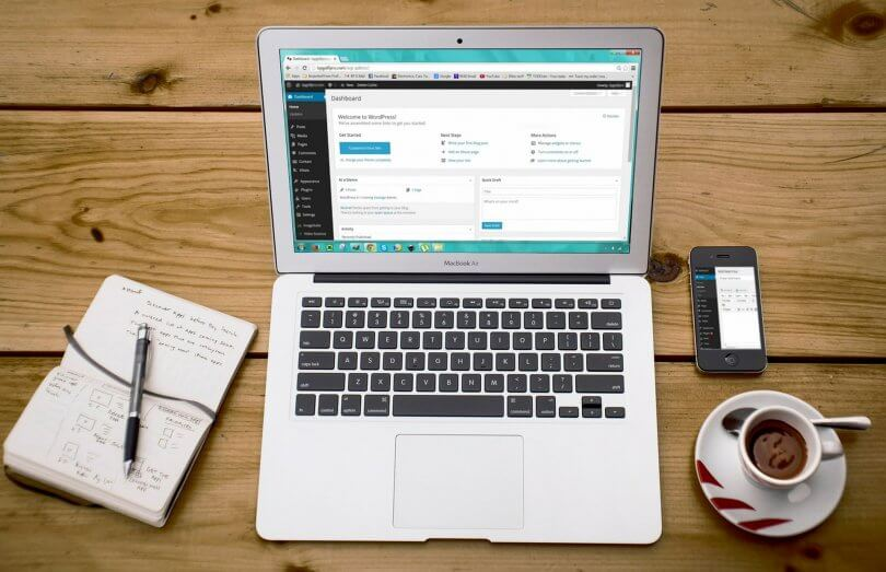 WordPress administrace