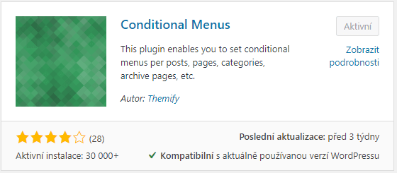 Conditional Menus