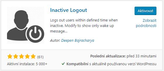 Inactive Logout
