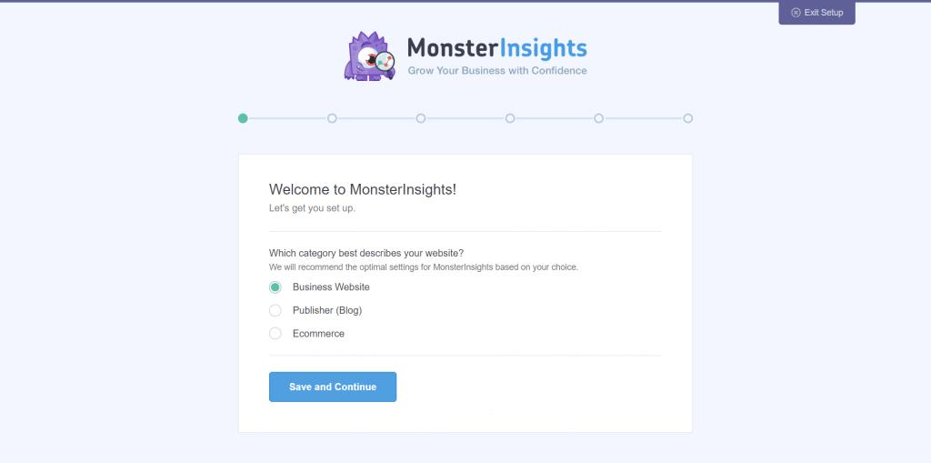 Monster Insight - Krok 1