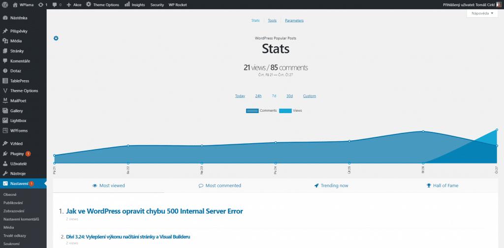 Statistiky