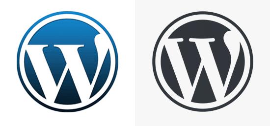 Porovnání WordPress loga