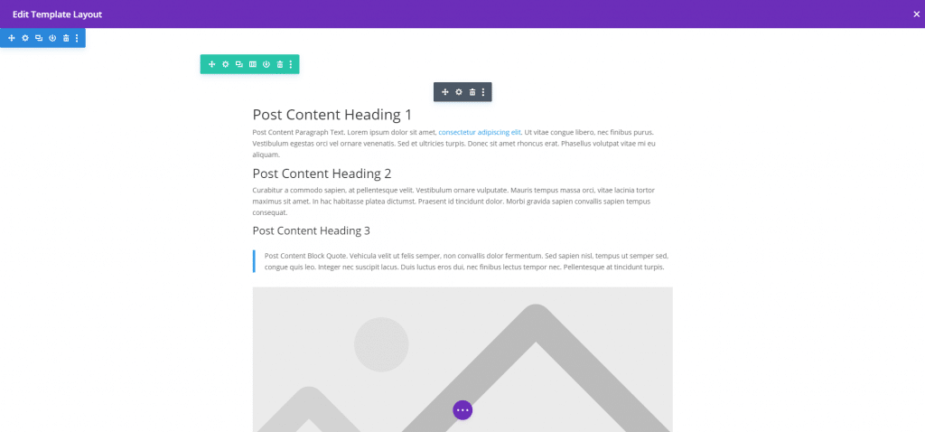 Vzorový obsah modulu Post Content