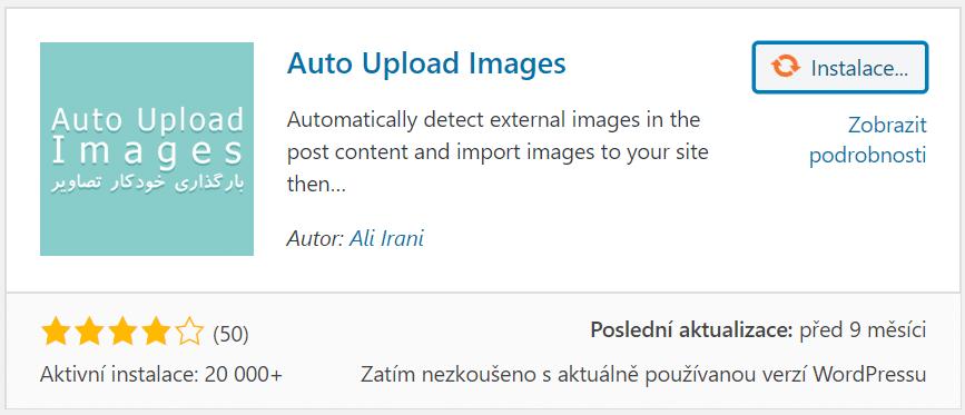 Auto Upload Images plugin