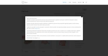 Vyskakovací okno ve WordPress