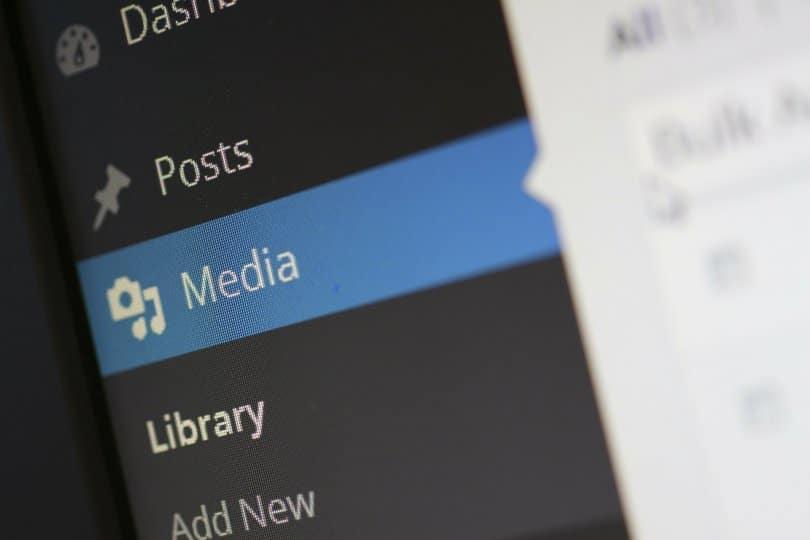 Média Wordpress