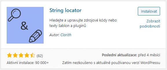 String locator