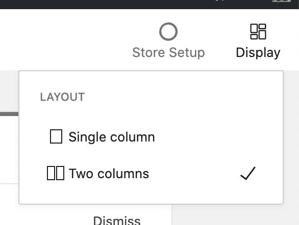 Rozložení domácí stránky