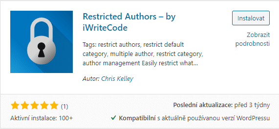 Restricted Authors